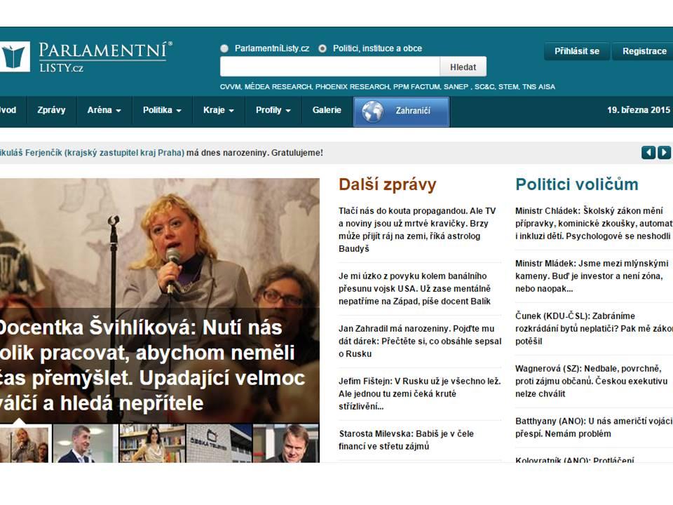 Parlamentní noviny