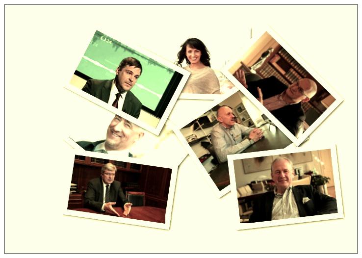 Koláž: Sedm vlivných odpovídá