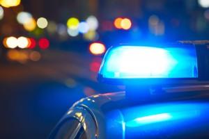 zatčení, zátah, vyšetřování, policie, maják