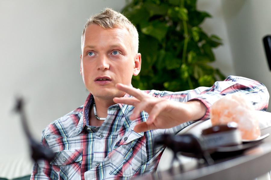 Martin Hausenblas, hnutí Pro! Ústí. Foto: hausenblas.cz