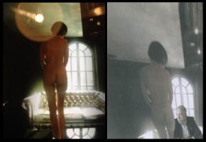 Nalevo snímek z reklamního focení, napravo fotomontáž. (neo)