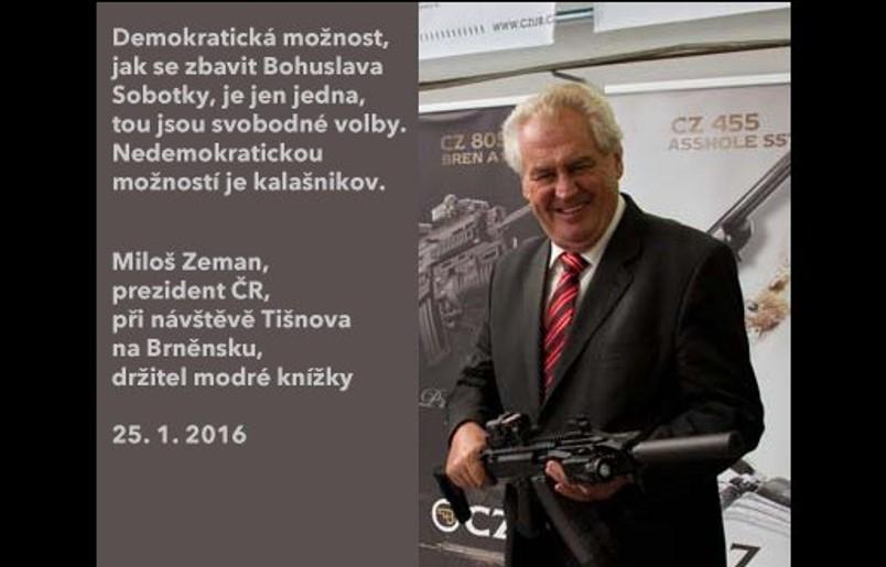 Takto prezidentův výrok zachytil internetový glosátor Ján Simkanič na svém twitteru.