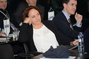 Adriana Krnáčová na momentce z celostátního sněmu hnutí ANO. Foto: Ano, bude líp