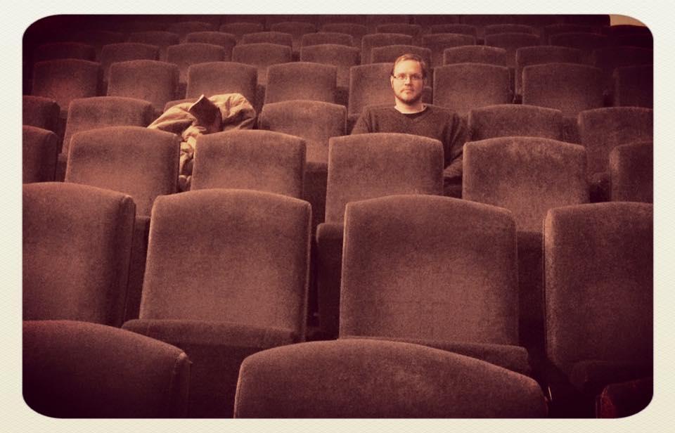 Kamil Fila, ještě větší kritik, než jsme doufali, v kině. Foto: Archiv KF