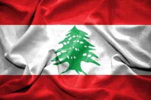 Libanon, libanonská vlajka, cedr
