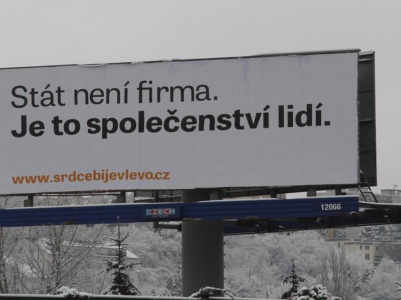 Stát není firma, nová kampaň sociální demokracie (repro: ČSSD)