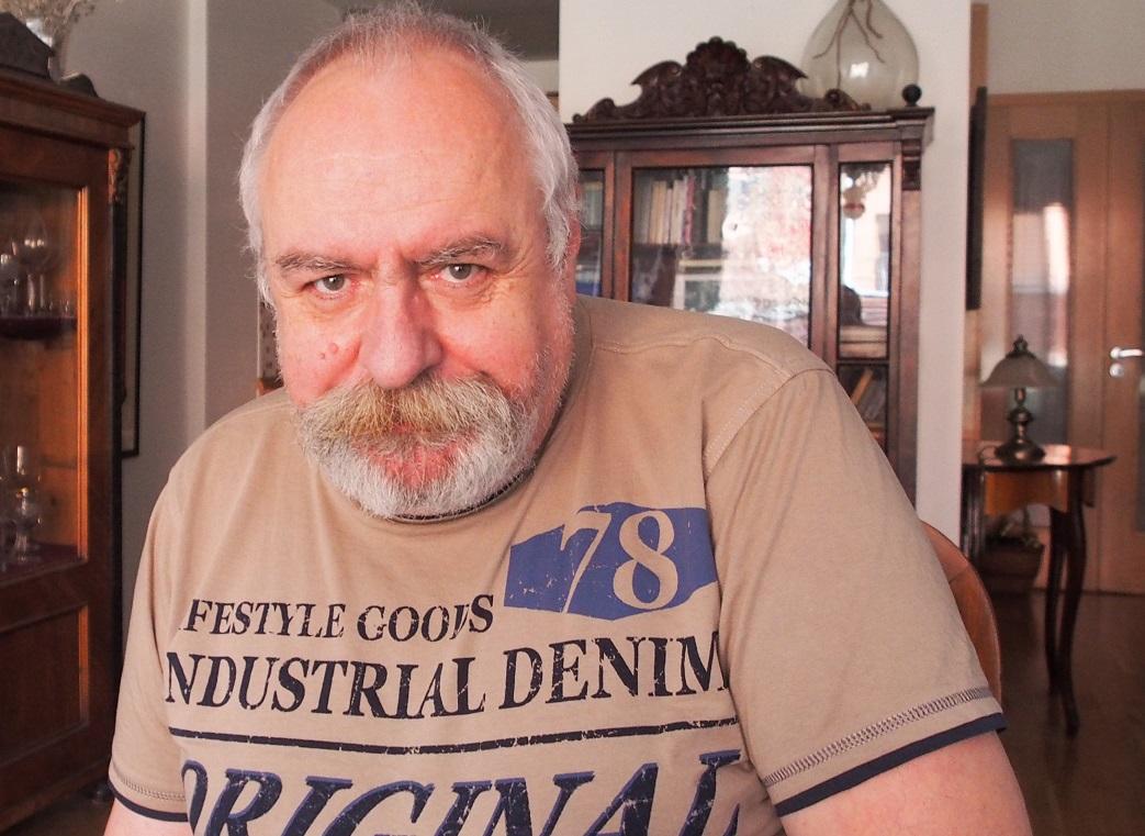 Hans-Jörg Schmidt během rozhovoru pro Neovlivní.cz. Foto: David Binar