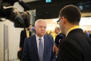 Jaroslav Faltýnek z hnutí ANO jako čestný host na sjezdu KDU-ČSL v roce 2015. Foto: kdu.cz