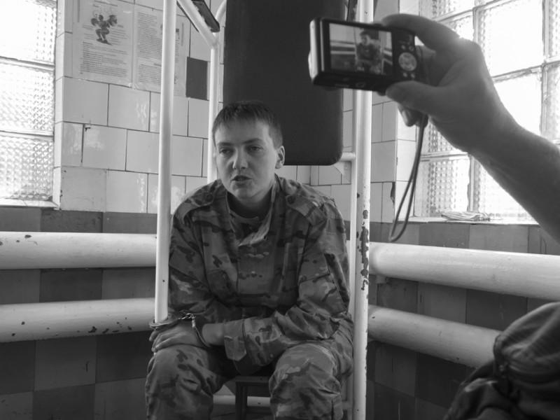 Snímek z 19. června 2014 pořízený krátce po zajetí Savčenko. IgorGolovniov / Shutterstock.com