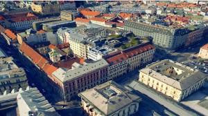 Lidový dům na nových mapách společnosti Seznam.cz, která představila svou novinku - mapy ČR ve 3D.