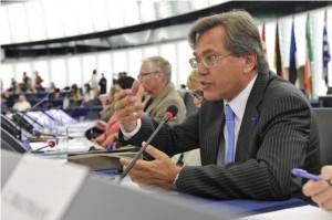 Archivní snímek z roku 2011 během oslav Dne Evropy ve Štrasburku. Foto: liborroucek.cz