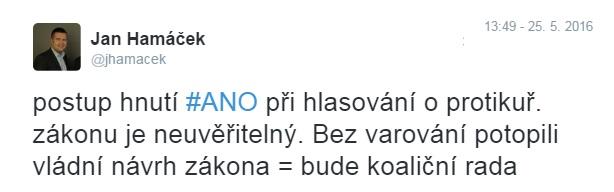 hamacek_tweet