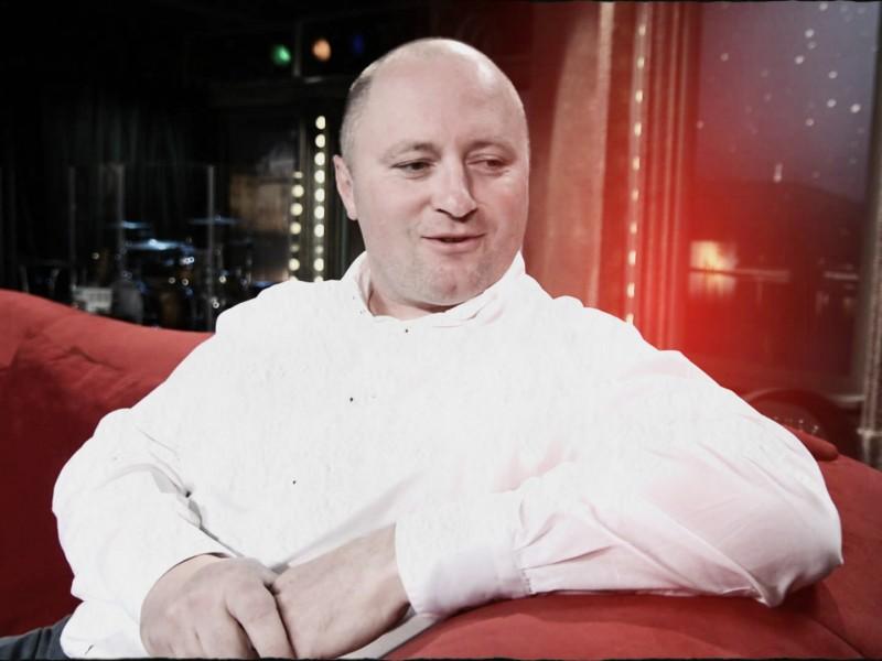 Hynek Vlas během vystoupení v pořadu Show Jana Krause. Repro: Neo