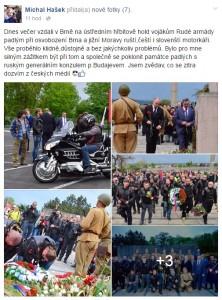 Zdroj: Z facebookového profilu hejtmana Michala Haška.