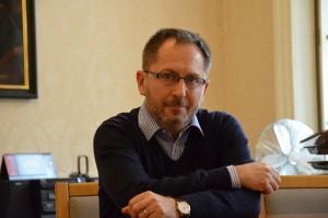 Petr Kukal z tiskového odboru ministerstva kultury. Foto: Dominik Mališ