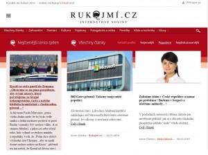 Repro stránek RUKOJMÍ.cz