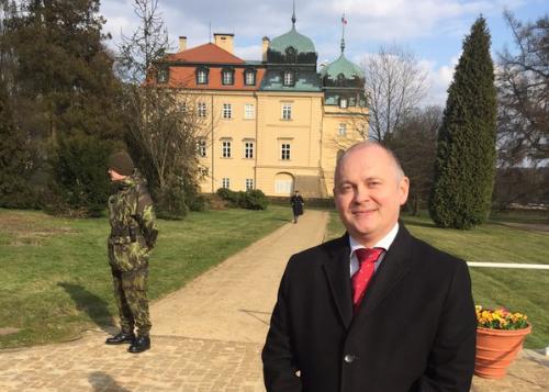Michal Hašek se vrátil na místo činu, napsal a vyfotil na Twitter Jiří Ovčáček