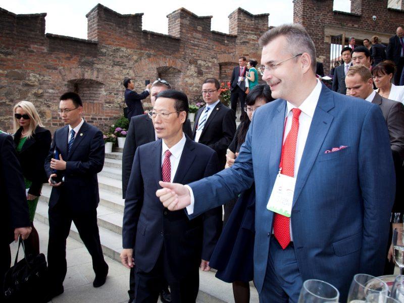 Česko čínská komora vzájemné spolupráce; momentky z China Investment Forum 2015