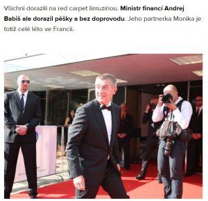 Otisk ze zpravodajství bulvárního webu Expres Babišova vydavatelství Mafra. Repro: neo