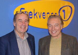 Michel Fleischmann s Karlem Gottem. Foto: Frekvence 1