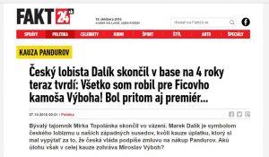 Výboh, Dalík, slovenská média