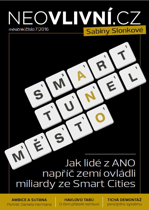 Obálka nového magazínu Neovliní.cz