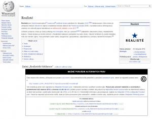 Otisk z Wikipedie, repro Neo