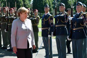 Forejt měl na starost například červencovou návštěvu německé kancléřky Merkel v Praze