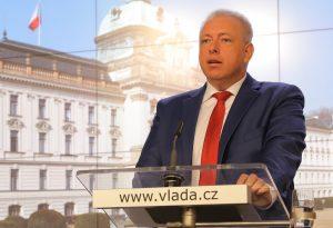 Ministr vnitra Milan Chovanec na snímku z listopadu 2016. Foto: vlada.cz